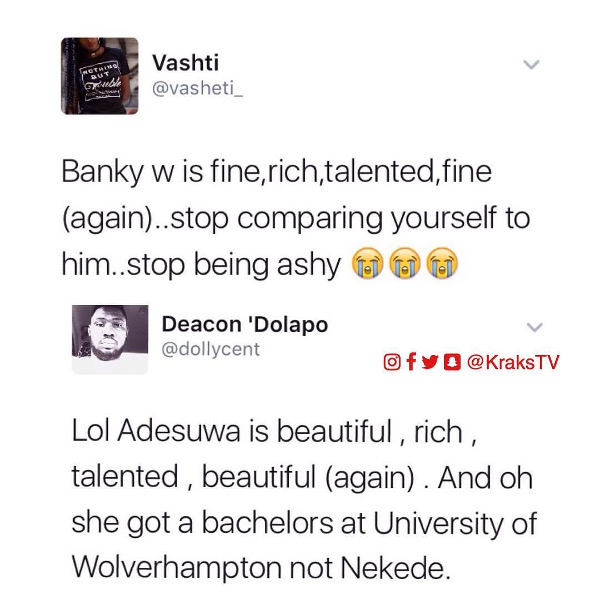 Adesua Etomi and Banky W Engagement Story Memes LoveWeddingsNG Compare