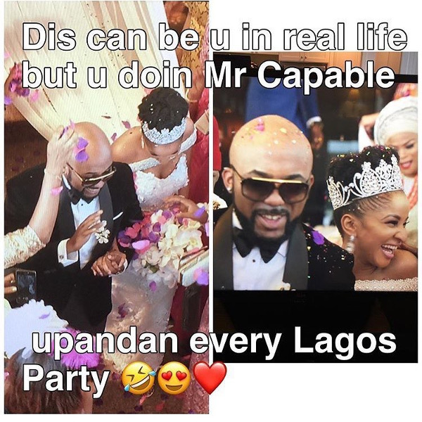 Adesua Etomi and Banky W Engagement Story Memes LoveWeddingsNG Mr Capable