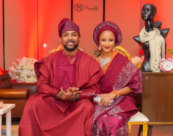 #BAAD2017: First photos from Adesua Etomi & Banky W's Introduction