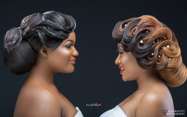 Inspired by Lilies & Waves, Charis Hair inspires brides-to-be