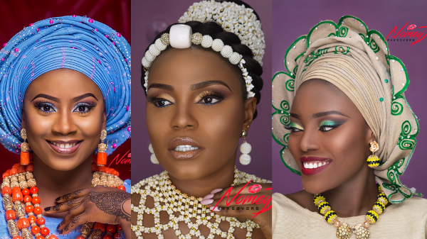 Traditional Bridal Makeup Inspo | NomeyJ Makeovers