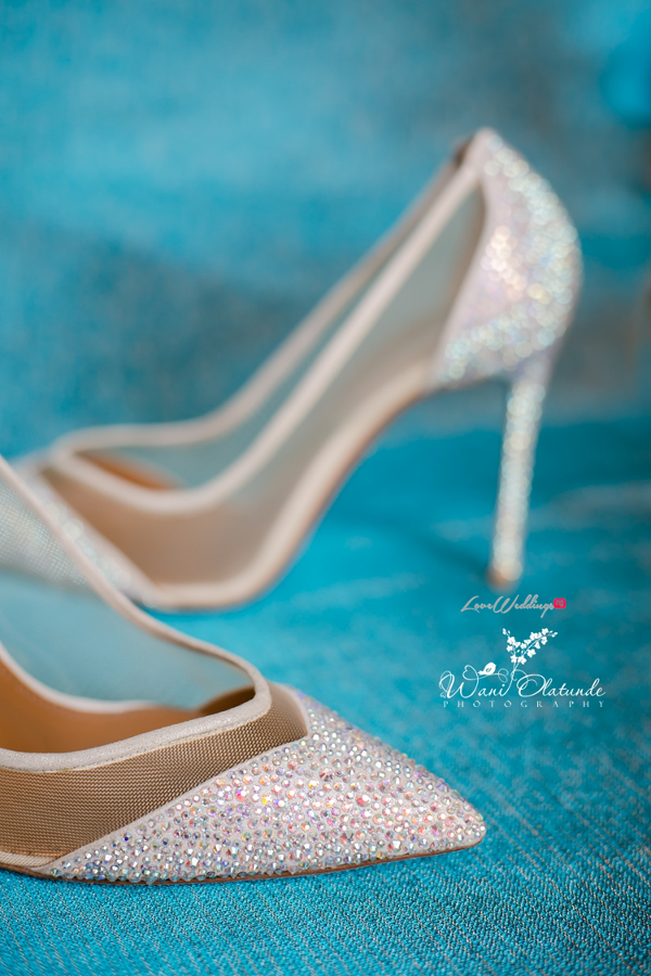 Nigerian Traditional Bridal shoes Wani Olatunde Photography LoveWeddingsNG