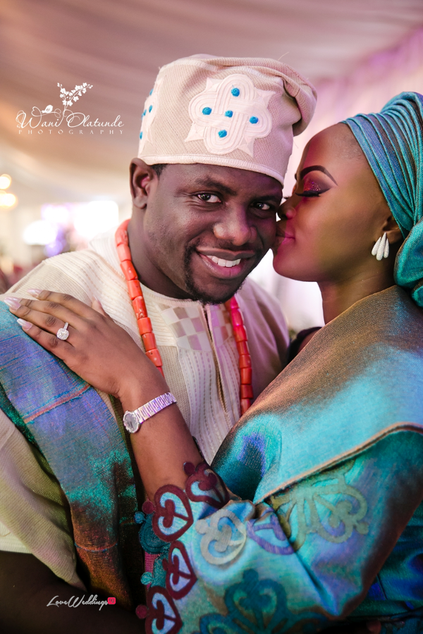 Nigerian Traditional Bride and Groom Wani Olatunde Photography LoveWeddingsNG 1