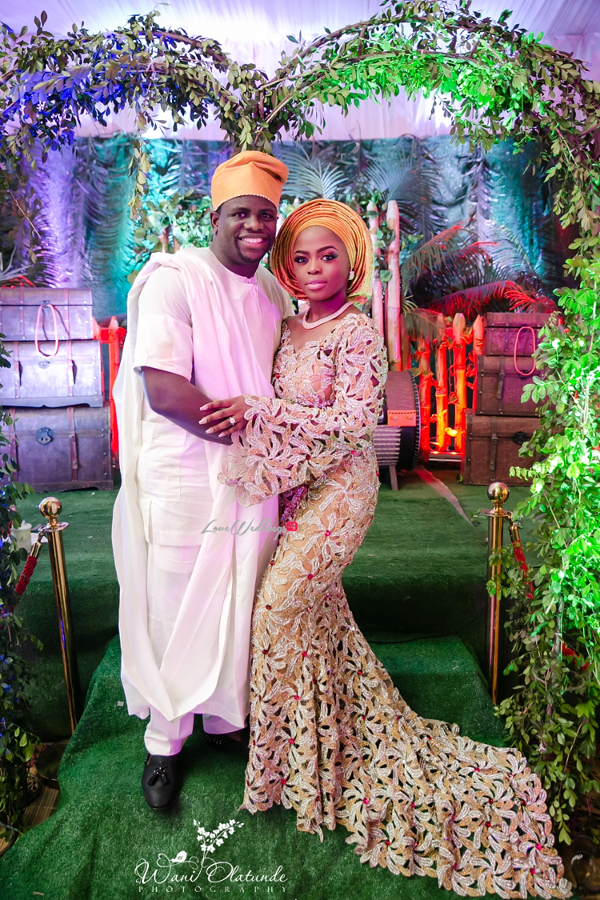 Nigerian Traditional Bride and Groom Wani Olatunde Photography LoveWeddingsNG 2