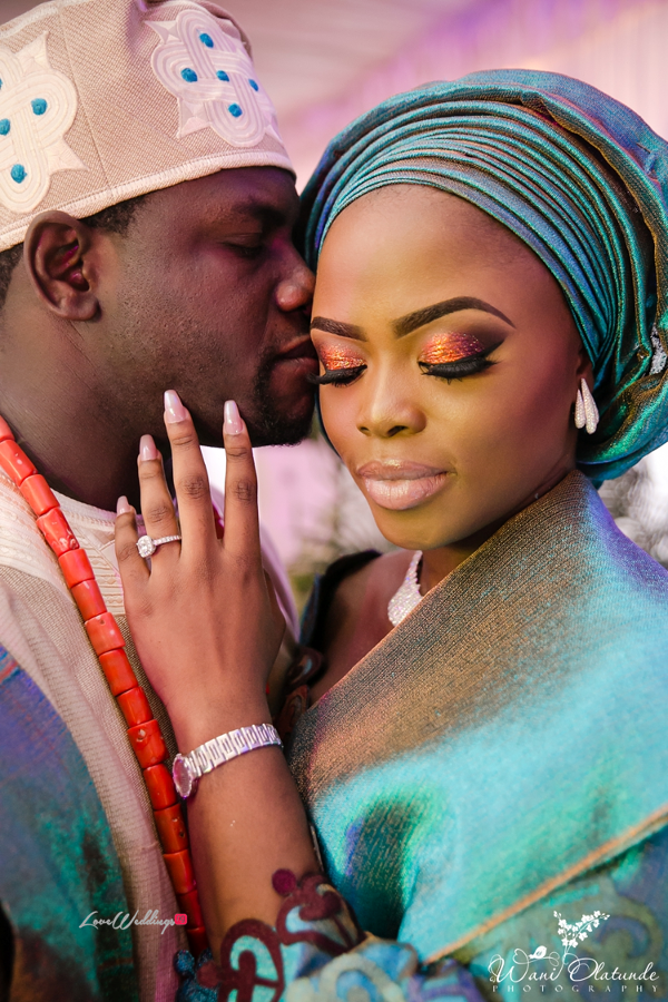 Nigerian Traditional Bride and Groom Wani Olatunde Photography LoveWeddingsNG 4