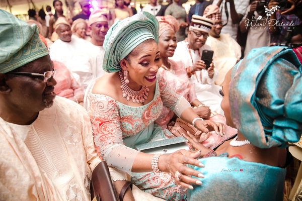 Nigerian Traditional Bride and Parents of the Groom Wani Olatunde Photography LoveWeddingsNG