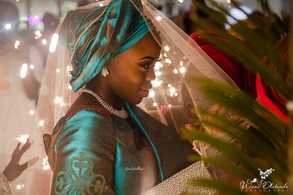 Nigerian Traditional Bride unveiled Wani Olatunde Photography LoveWeddingsNG