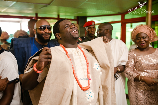 Nigerian Traditional Groom dancing Wani Olatunde Photography LoveWeddingsNG