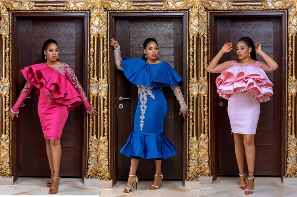 Toyin Lawani's Elegante by Tiannah Styling presents The Transformer Collection LoveWeddingsNG 13