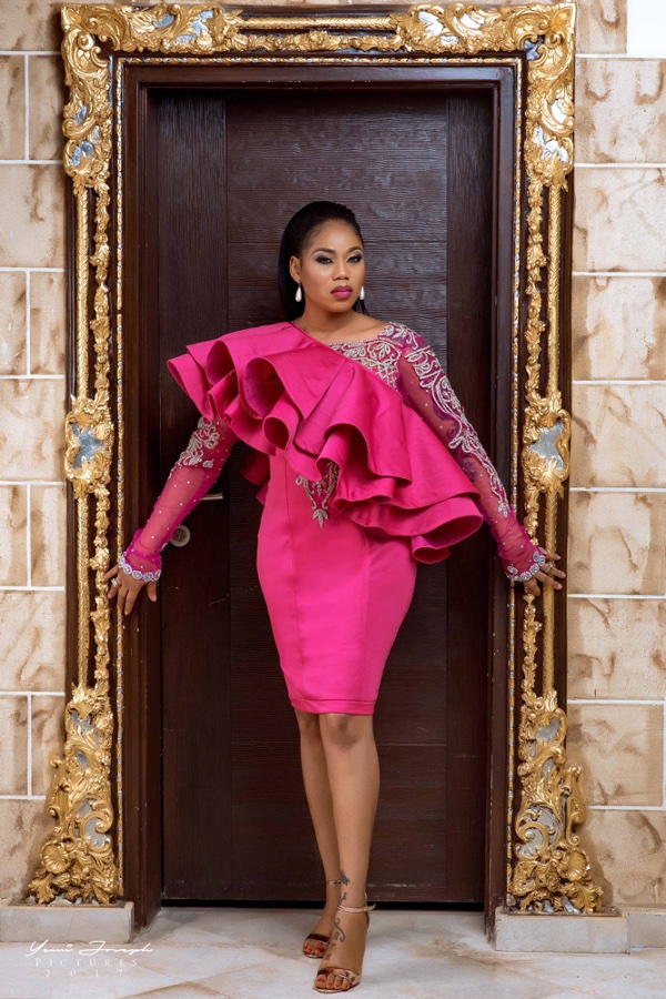 Toyin Lawani's Elegante by Tiannah Styling presents The Transformer Collection LoveWeddingsNG 14