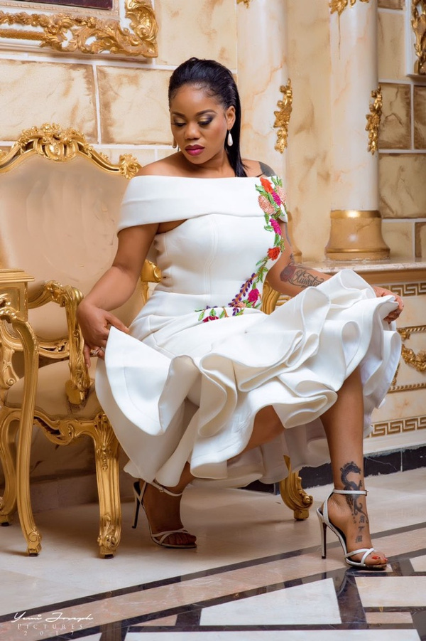 Toyin Lawani's Elegante by Tiannah Styling presents The Transformer Collection LoveWeddingsNG 2