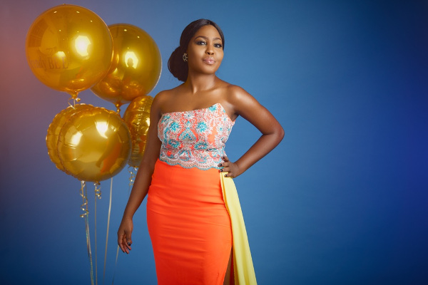 Event Planner Bisola Borha of TrendyBE Events' Birthday shoot