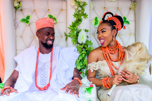 Monica & Bright's Traditional Wedding | Jide Oketonade Photography