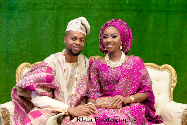 Simileoluwa and Oladapo's Lovely Traditional Wedding | Klala Photography