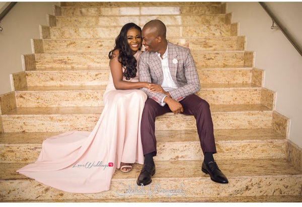 Nigerian Staircase Wedding Photo Inspiration