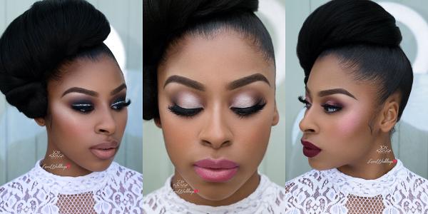 3 Bridal Makeup Briefs slayed by UK & International makeup artist, Joy Adenuga
