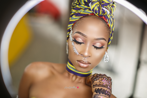 Nigerian Bridal Makeup Inspiration | EdMirage Photography