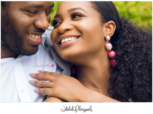 """They say when you know, you know. That was our story"" – Kemi & Ben 