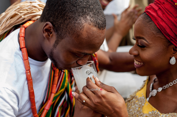 Dimma & Omons' Traditional Wedding in Anambra | Okolie Kenneth Photography