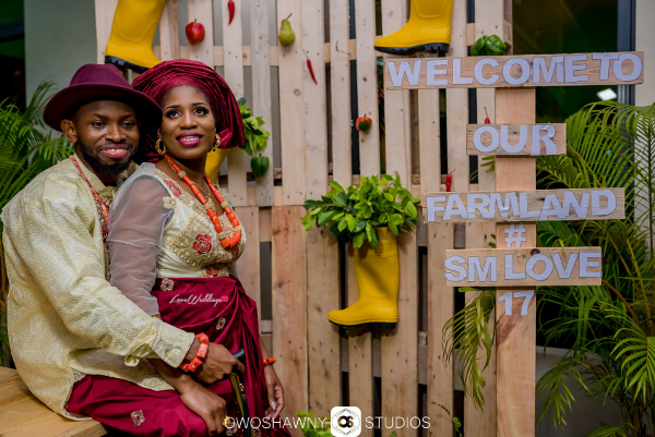 Sumbo & Moses' Farm Themed Traditional Wedding | TrendyBE Events