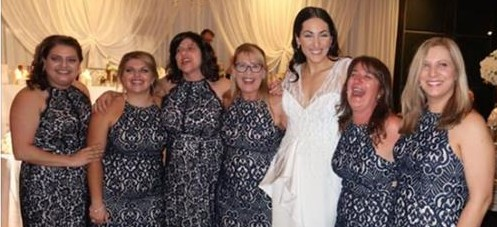 6 guests accidentally wore the same dress to this wedding in Australia