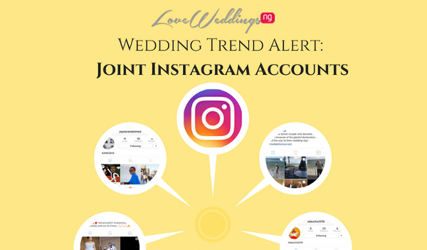 Are joint bride & groom accounts the new wedding hashtags on Instagram?