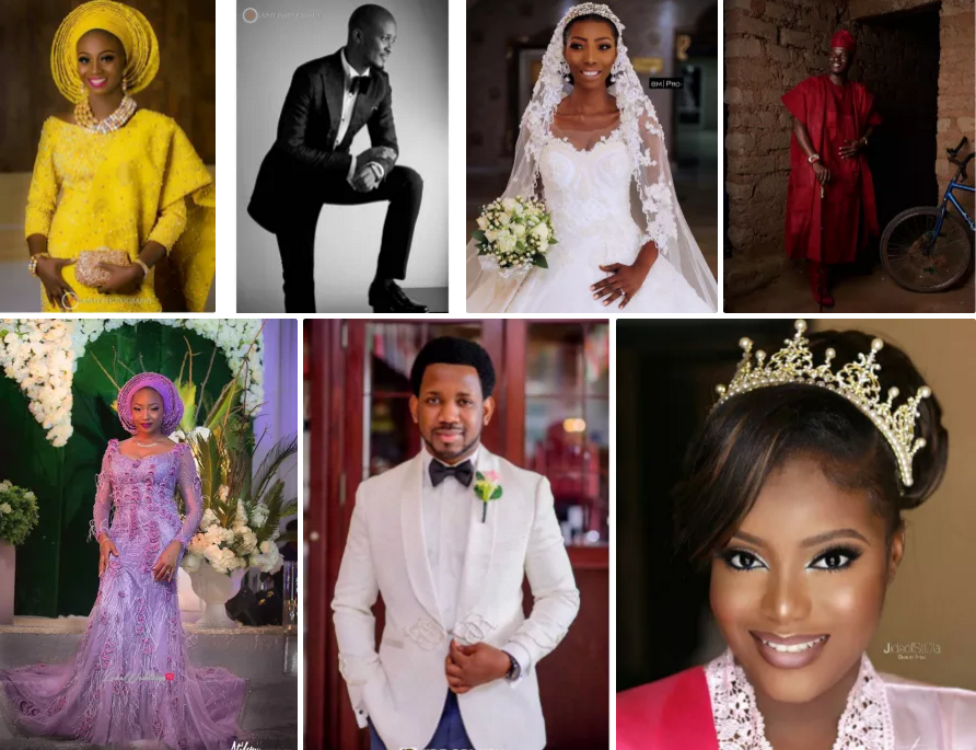 20 Nigerian Wedding Vendors who got married in 2017