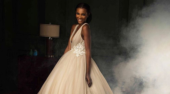 Agbani Darego x Andrea Iyamah for Lagos Fashion Design Week2017