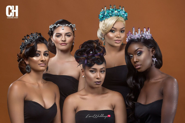 "Charis Hair presents Bridal hair inspiration ""Hair of Thrones"""