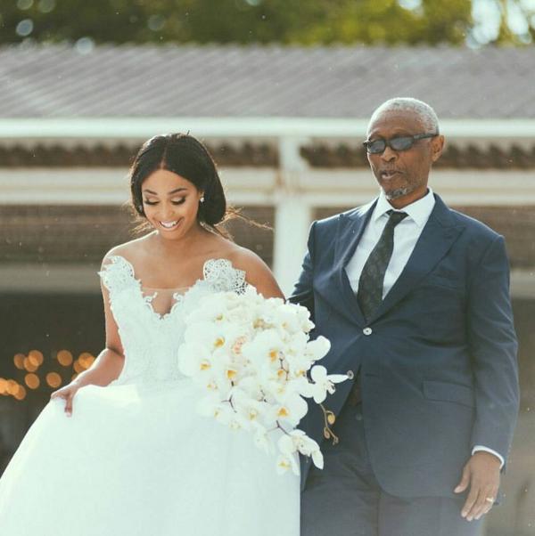 Minnie Dlamini & Quinton Jones' Lavish White Wedding In