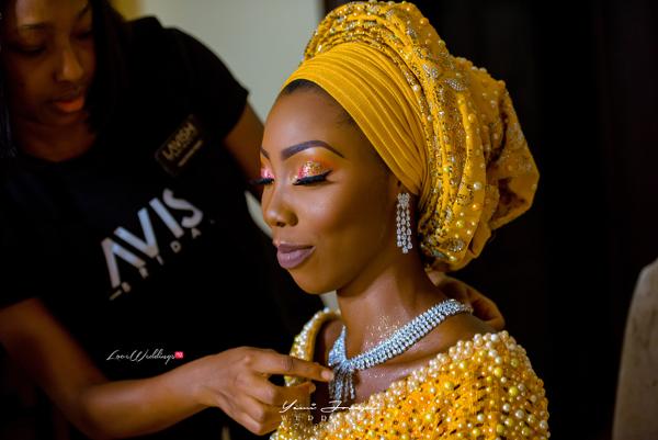 The Inspiration behind Ms Makor's Gold & Diamond Traditional Bridal Looks | Lavish Bridal