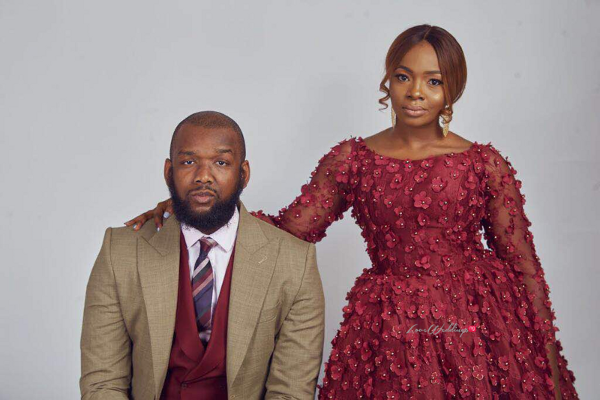 It was a 'Burgundy' affair for Nchedo's Pre-Wedding Shoot | The Wardrobe Manager