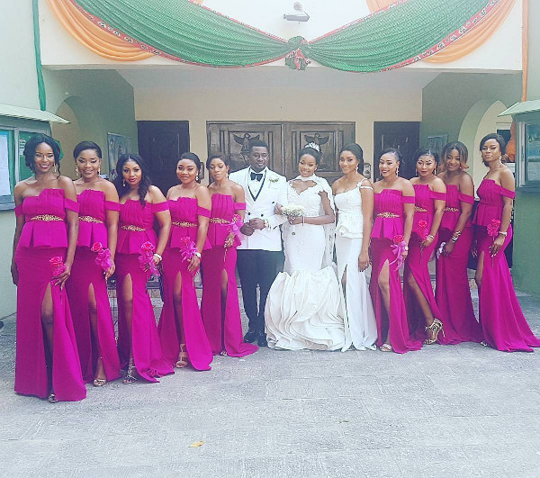 First Photos from Nollywood Actor, Daniel K Daniel & Tina's Wedding | #TeeDKD17