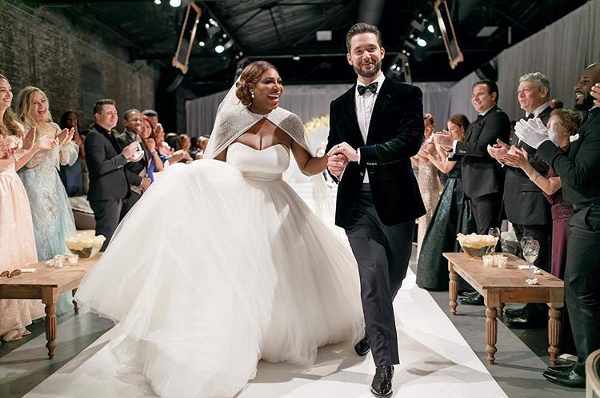 Serena Williams & Alexis Ohanian's Star Studded Wedding