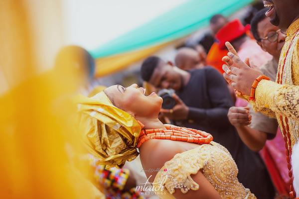 Harmony & Emeka's Traditional Wedding Pictures will get you Owambe – ready | MTouch Weddings