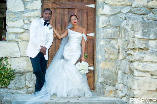LeToya Luckett and Tommicus Walker's Wedding