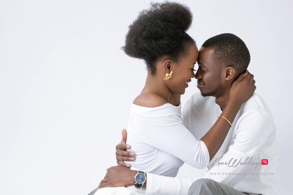 Ayo & Murewa's PreWedding photos are the perfect blend of love & Christmas | #MATieTheKnot