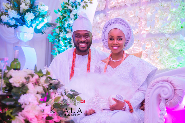 Joy & Iredia's Benin Rich Traditional Nigerian Wedding | Klala Photography
