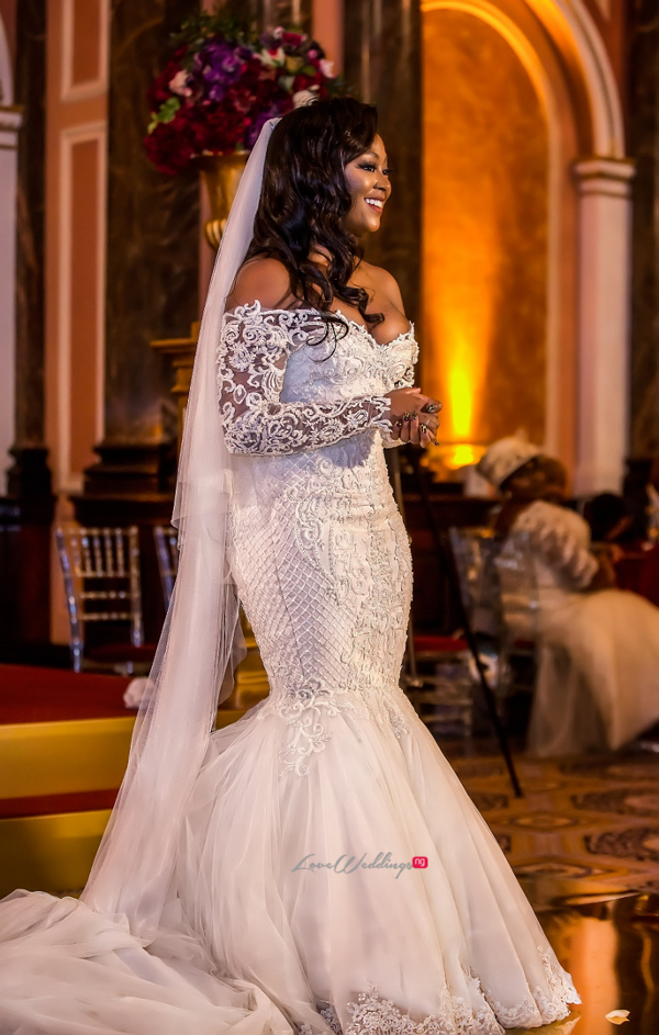 10 Real Brides who wore wedding gowns from Nigerian Bridal Houses