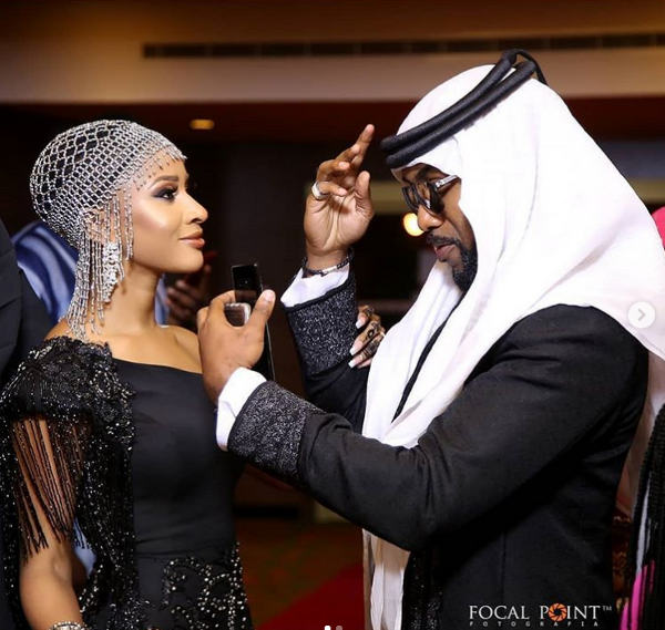 From the 'Gram with Style | Adesua Etomi & Banky Wellington