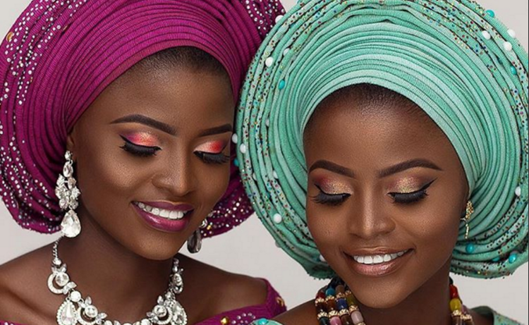 Twice as Nice! Twin Traditional Bridal Inspiration | NomeyJ Makeovers