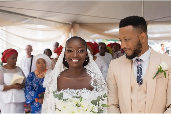 Yewande & Victor's Lovely Outdoor Wedding in Lagos | #WWForever