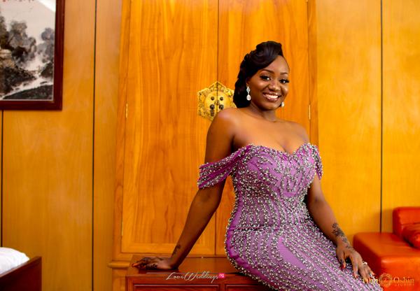 Eniola Elegushi's Bridal Look Styled by The Wardrobe Manager | #EniOye2018
