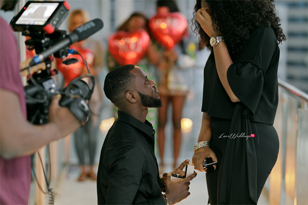How Nigerian photographer, Jide Kola proposed to Cynthia | #CJLoveStory