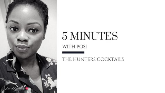 5 Minutes with Posi | The Hunters Cocktails