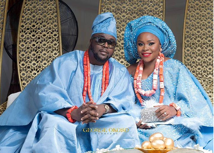 First Photos from Singer, Omawumi & Tosin  Yusuf's Traditional Wedding in Warri | #TOY18