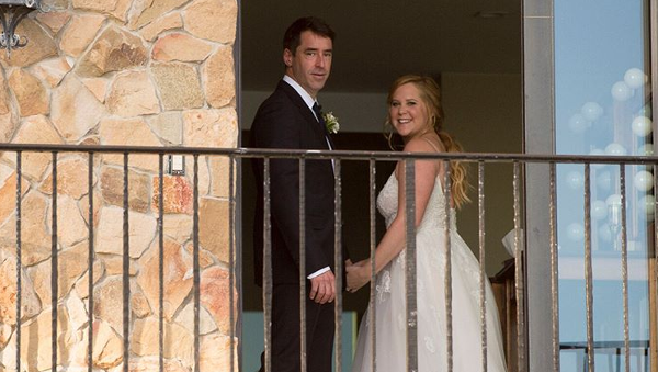 Amy Schumer weds Chris Fischer in a private ceremony in Malibu