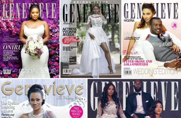 Throwback Thursday to some iconic Genevieve Bridal Magazine covers