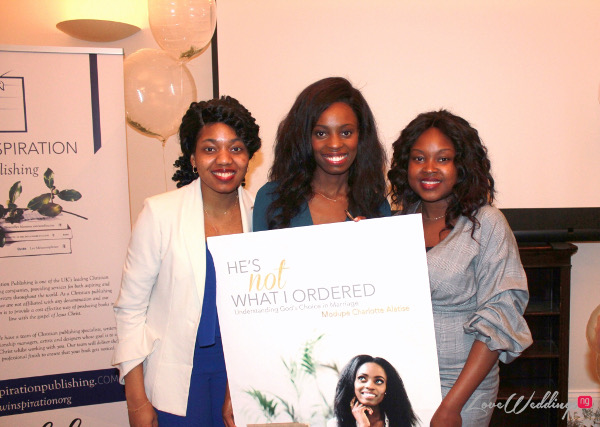 Pictures from the 'He's Not What I Ordered' Book Launch in London | #HNWIO