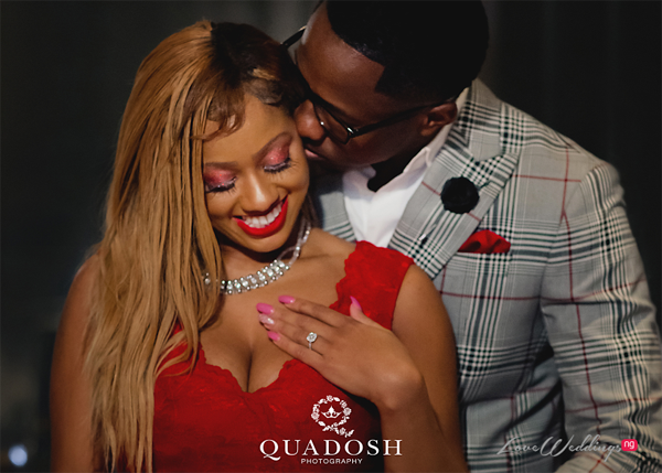 Michael proposed to Janay with the most beautiful ring | Quadosh Photography